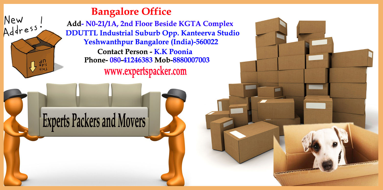 Organize Your Move with Packers and Movers Bengaluru